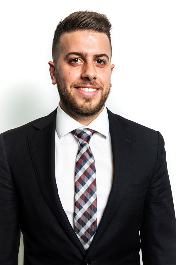 Headshot photo of Daniel Tassone from PCO Law
